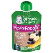 Gerber 2nd Foods Organic Banana Blueberry&Blackberry Oatmeal