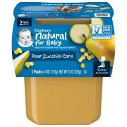 Gerber 2nd Foods Pears Zucchini Corn