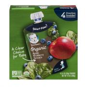 Gerber Organic 2nd Foods Pouch Apples, Blueberries & Spinach
