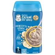 Gerber Oatmeal & Banana Cereal Probiotic