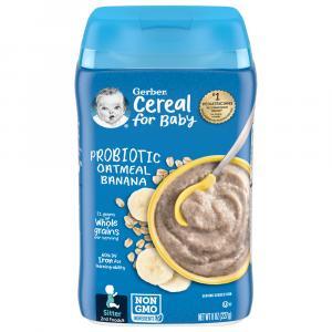 Gerber Oatmeal & Banana Cereal Probiotic