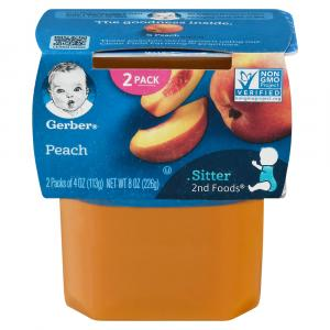 Gerber 2nd Foods Peaches