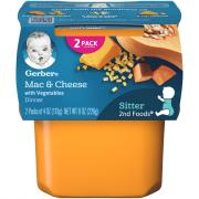 Gerber 2nd Foods Macaroni and Cheese