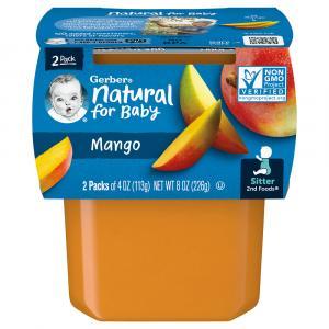 Gerber 2nd Foods Mangos