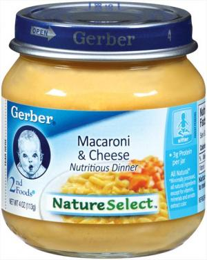 Gerber 2nd Foods Macaroni & Cheese