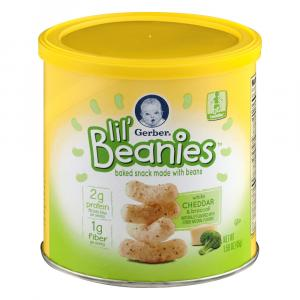 Gerber Lil' Beanies White Cheddar & Broccoli Snack