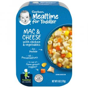Gerber Graduates Lil' Meals Mac & Cheese Chicken & Vegetable