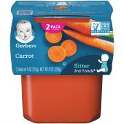 Gerber 2nd Foods Carrots