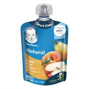 Gerber Smart Flow Pouch Apple Pear Peach