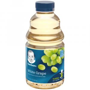 Gerber White Grape Juice