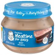 Gerber 2nd Foods Strained Beef