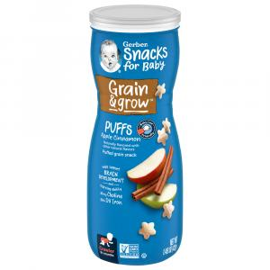 Gerber Graduates Apple Cinnamon Puffs