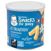 Gerber Lil Crunchies Vanilla Maple
