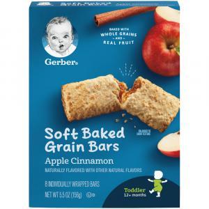 Gerber Graduates Apple Cinnamon Fruit Bars