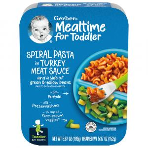 Graduate Lil Entree Spiral Pasta With Turkey