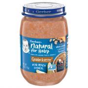 Gerber 3rd Foods Pear & Peach Oatmeal