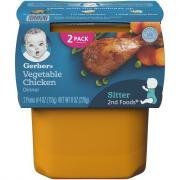 Gerber 2nd Foods Vegetables & Chicken