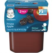 Gerber 2nd Foods Prunes with Apples