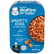 Gerber Graduates Lil' Meals Spaghetti Rings in Meat Sauce