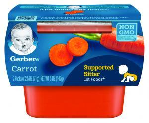 Gerber 1st Foods Carrots
