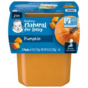 Gerber 2nd Foods Pumpkin