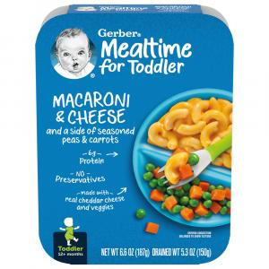 Gerber Graduates Lil' Entrees Mac & Cheese