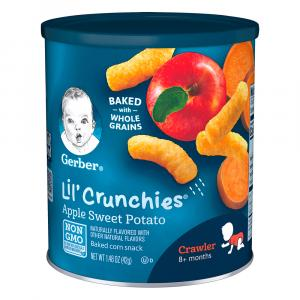 Gerber Graduates Lil' Crunchies Apple & Sweet Potato Snack