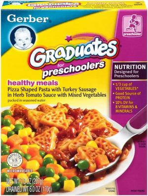 Gerber Preschooler Healthy Meals Pasta & Turkey