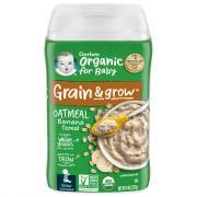 Gerber Organic Oatmeal Banana Cereal