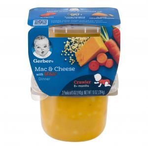 Gerber 3rd Foods Mac And Cheese Dinner