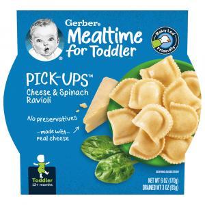 Gerber Graduates Pasta Pick-Ups Spinach & Cheese Ravioli