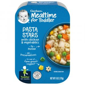 Gerber Graduates Lil' Meals Pasta Stars Chicken & Vegetables
