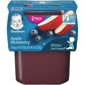 Gerber 2nd Foods Apples & Blueberries