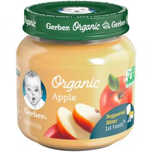 Gerber 1st Foods Organic Apple Jar