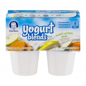 Gerber Yogurt Blends Sweet Potato Pear