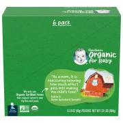 Gerber 2nd Foods Organic Apples & Summer Peaches