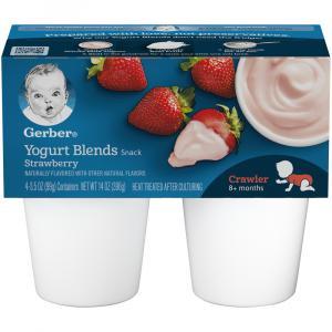 Gerber Simply Strawberry Yogurt Blends