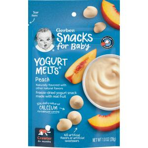 Gerber Graduates Peach Yogurt Melts