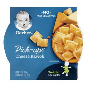 Gerber Graduates Pasta Pick-ups Cheese Ravioli