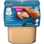 Gerber 2nd Foods Apples and Chicken