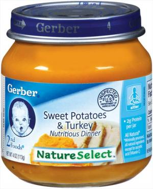 Gerber Simple Recipe Sweet Potatoes & Turkey
