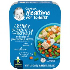 Gerber Graduates Lil Entree Chicken and Vegetable Stew