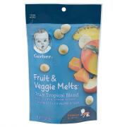 Gerber Graduates Fruit & Veggie Melts Tropical Blend