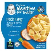 Gerber Graduates Pasta Pick-Ups Chicken & Carrot Ravioli