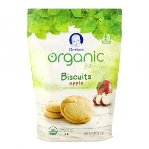 Gerber Organic Gluten Free Apple Biscuits