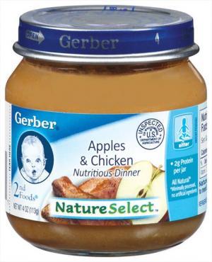 Gerber Simple Recipe Apple & Chicken