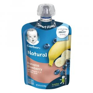 Gerber Smart Flow Pouch Banana Blueberry