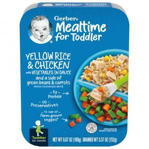 Gerber Graduates Lil Entree Chicken Rice Vegetables