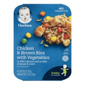Gerber Graduates Chicken & Brown Rice With Vegetables