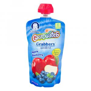 Gerber Graduates Grabbers Apple Blueberry